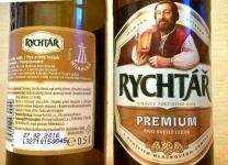 Rychtar Premium,  Rychtar premium - lahev - detaily